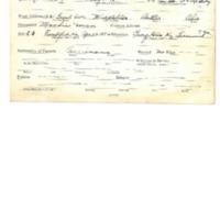 Abbott, Bryon WWI Card