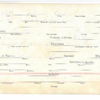 Abbott, Aha Johnson WWI Card
